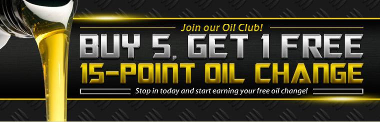 Join our Oil Club!